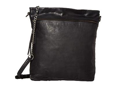 FRYE AND CO. Riley Tote (Black) Tote Handbags