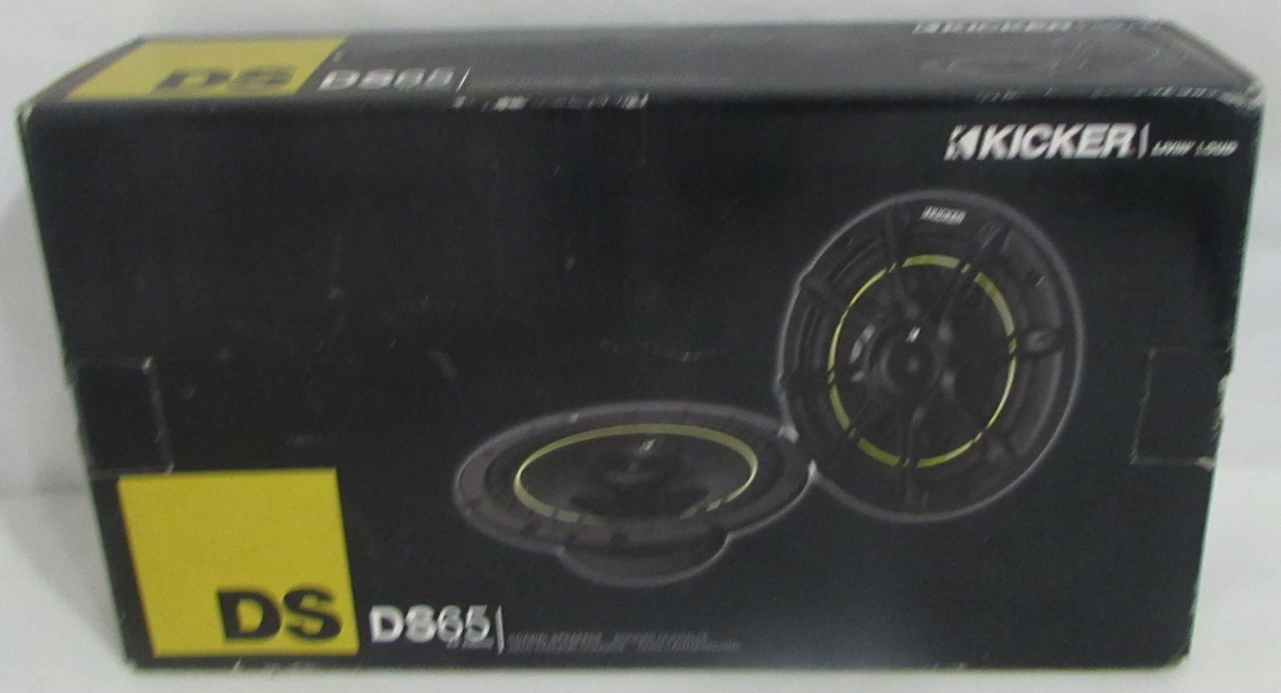 "KICKER New Ds693 6X9 3-Way Car Speakers + Ds65 6.5"" 2-Way Car Speakers 11Ds693"