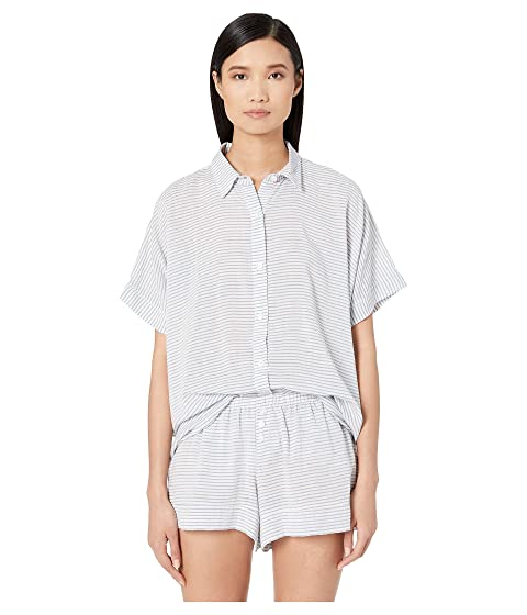 Eberjey Nautico - The Slouchy Short PJ Set