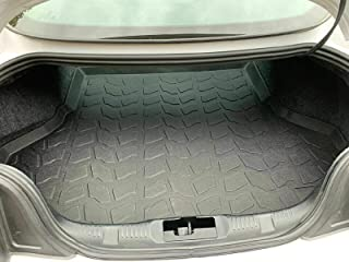 REAR TRUNK FLOOR CARGO TRAY PROTECTION DIRT MUD SNOW ALL WEATHER SEASON WATERPROOF WATER-RESISTANT 3D LASER MEASURED LINER MAT for FORD MUSTANG SHELBY GT350/GT350R 2015 2016 2017 2018 2019 BRAND NEW