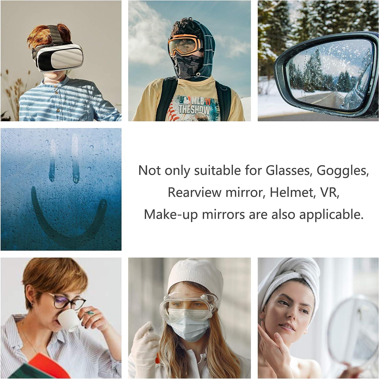 20 pezzo di salviettine anti-appannamento compresse salviette per lenti per lenti della fotocamera schermi salviette per la pulizia degli occhiali panni per la pulizia degli occhiali