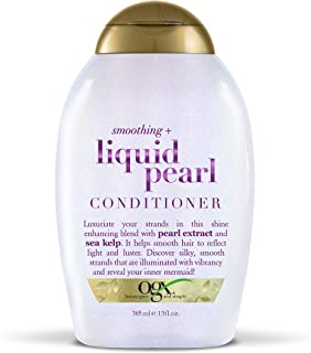 OGX Smoothing + Liquid Pearl Conditioner, 13 Ounce