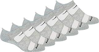 Saucony Men's Multi-pack Mesh Ventilating Comfort Fit Performance Tab Socks