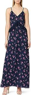 Marchio Amazon - TRUTH & FABLE Maxi Dress a Fiori Donna