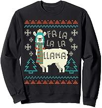 Fa La La La Llama Christmas Sweater Style Llama Sweatshirt