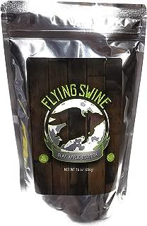 Flying Swine Slap Apple Bourbon BBQ Rub 16 Oz - Award Winning Butt Rub Seasoning & Grilling Spice - Great for Smoking Meat, Rib Rub, Brisket Rub, Pulled Pork & Chicken Marinade - No MSG & Gluten Free