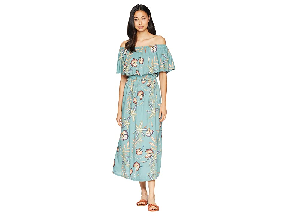 Roxy Technicolor Sky Woven Dress (Trellis Bird Flower) Women