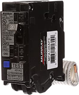 Murray MPA120AFC 20-Amp Single Pole 120-volt Plug-On Combination AFCI Breaker