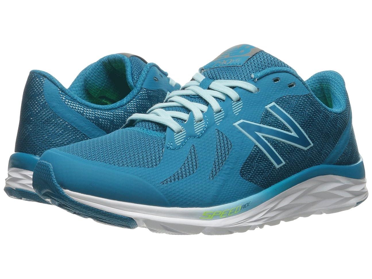 無意味散歩に行く歩行者(ニューバランス) New Balance レディースランニングシューズ?スニーカー?靴 790v6 Deep Ozone Blue/Ozone Blue Glo/Lime Glo 5 (22cm) B - Medium