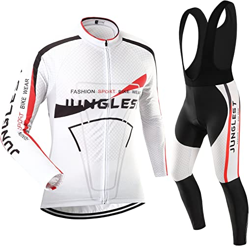 Maillot de Cyclisme Femme Manches Longues Jersey(S5XL,Option Cuissard,3D Coussin) N22