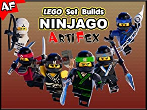 Clip: Lego Set Builds Ninjago - Artifex