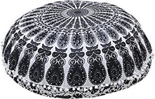 Best black and white floor cushion Reviews