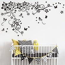 Walplus 150x130 cm muurstickers nieuwe grote vlinder wijnstok verwijderbare zelfklevende muurschilderingen Vinyl huisdecor...
