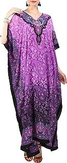 Miss Lavish London Mujeres caftán de Londres túnica Kimono Libre tamaño Largo Vestido de Fiesta para Loungewear Vacaciones...