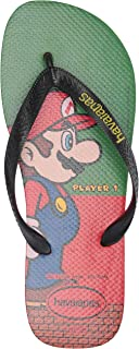 Havaianas Women's Mario Bros Flip Flop Sandal, Strawberry, ((13 M US Men's)