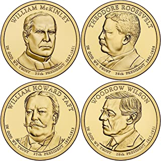 2013 Presidential Dollar 8-Coin Uncirculated Set P and D Singles IN STOCK (2x2)