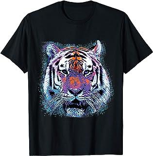 Tiger Face Pop Art Graphic T-Shirt