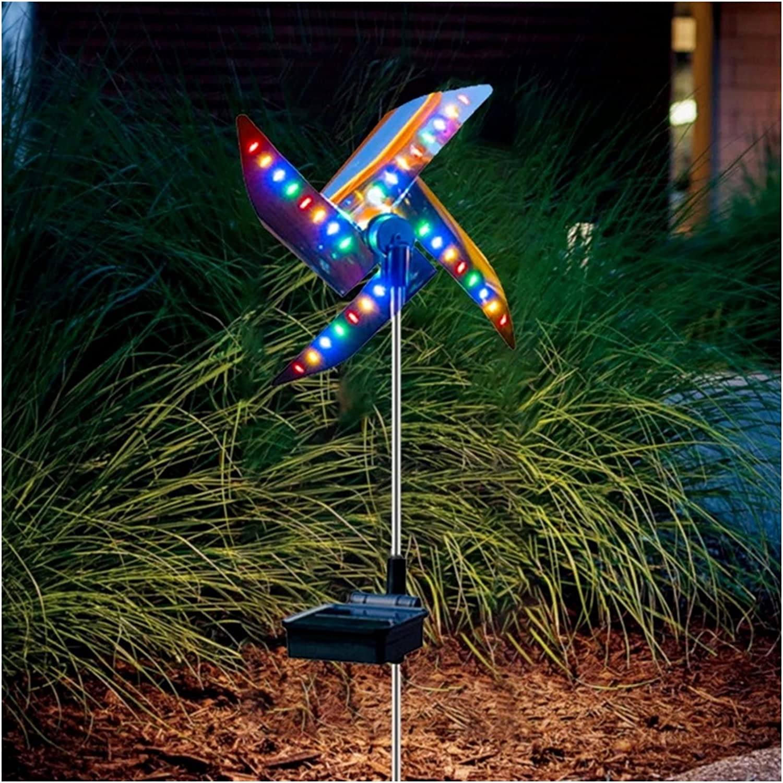 WKDZ Sale Special Price Solar Path Lawn Light Waterpro Windmill Decorative Outdoor Max 63% OFF