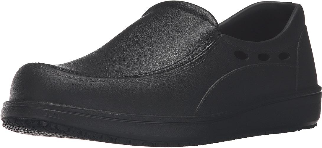 Skechers for Work Hommes's Lorhomme Work chaussures, noir, 13 M US