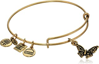 Charity by Design Butterfly Charm Bangle Bracelet, 7.75