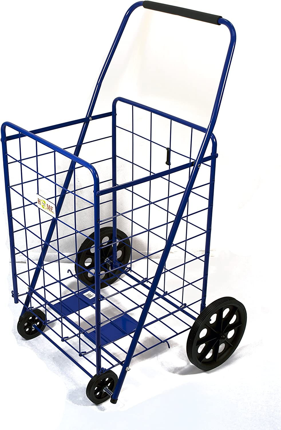 wholesale Uniware Folding Shopping Be super welcome Cart Blue x Size: 39.7