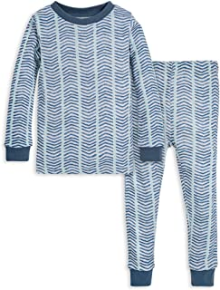 Baby Pajamas, Tee and Pant 2-Piece PJ Set, 100% Organic...