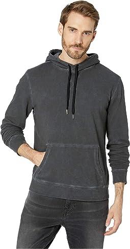 d60708f274213 Dkny zip front moto jacket w sweatshirt detail 18096 y4 black ...