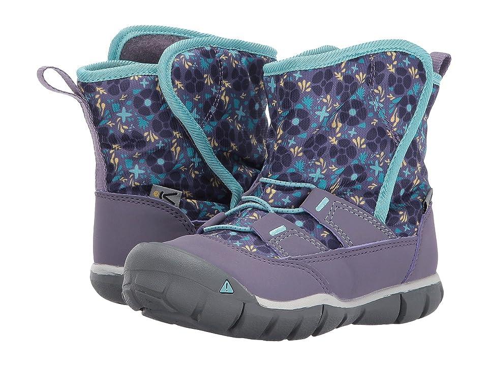 Keen Kids Peek-A-Boot (Toddler) (Montana Grape/Aqua Haze) Boys Shoes