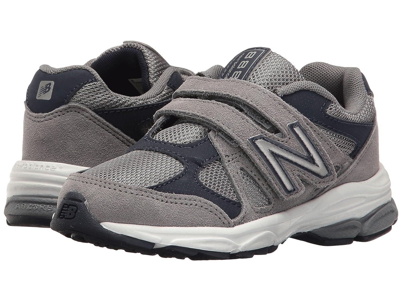 (ニューバランス) New Balance メンズランニングシューズ?スニーカー?靴 KV888v1 (Little Kid) Grey/Navy グレー/ネイビー 11.5 Little Kid (18cm) W