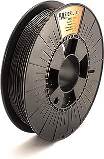BASICFIL PLA 1,75 mm 500 g, zwart (zwart), 3D-printerfilament