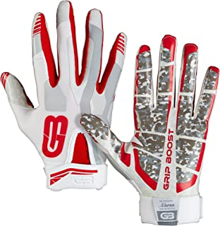 Grip Boost Football Gloves Mens #1 Grip Stealth Pro Elite – Adult & Youth..