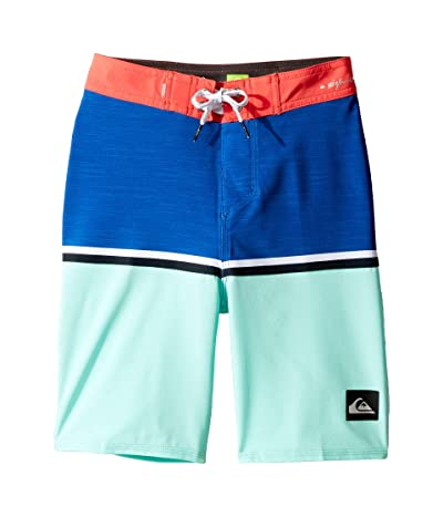 Quiksilver Kids Highline Division 18 Boardshorts (Big Kids) (Aqua Splash) Boy