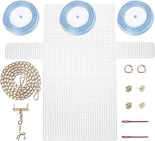 CHGCRAFT Ensemble de Tricot de Sac de Bricolage Kit de Couture Bricolage Kit de Sacs au Crochet à Tricoter Bricolage Faire...