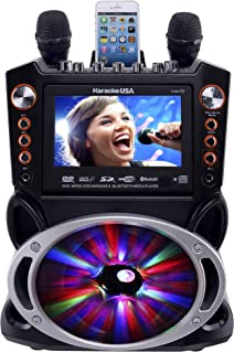 Karaoke USA GF846 DVD/CDG/MP3G Karaoke Machine with 7