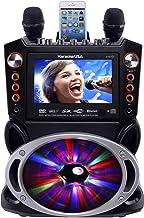 "Karaoke USA GF846 DVD/CDG/MP3G Karaoke Machine with 7"" TFT Color Screen, Record,.."