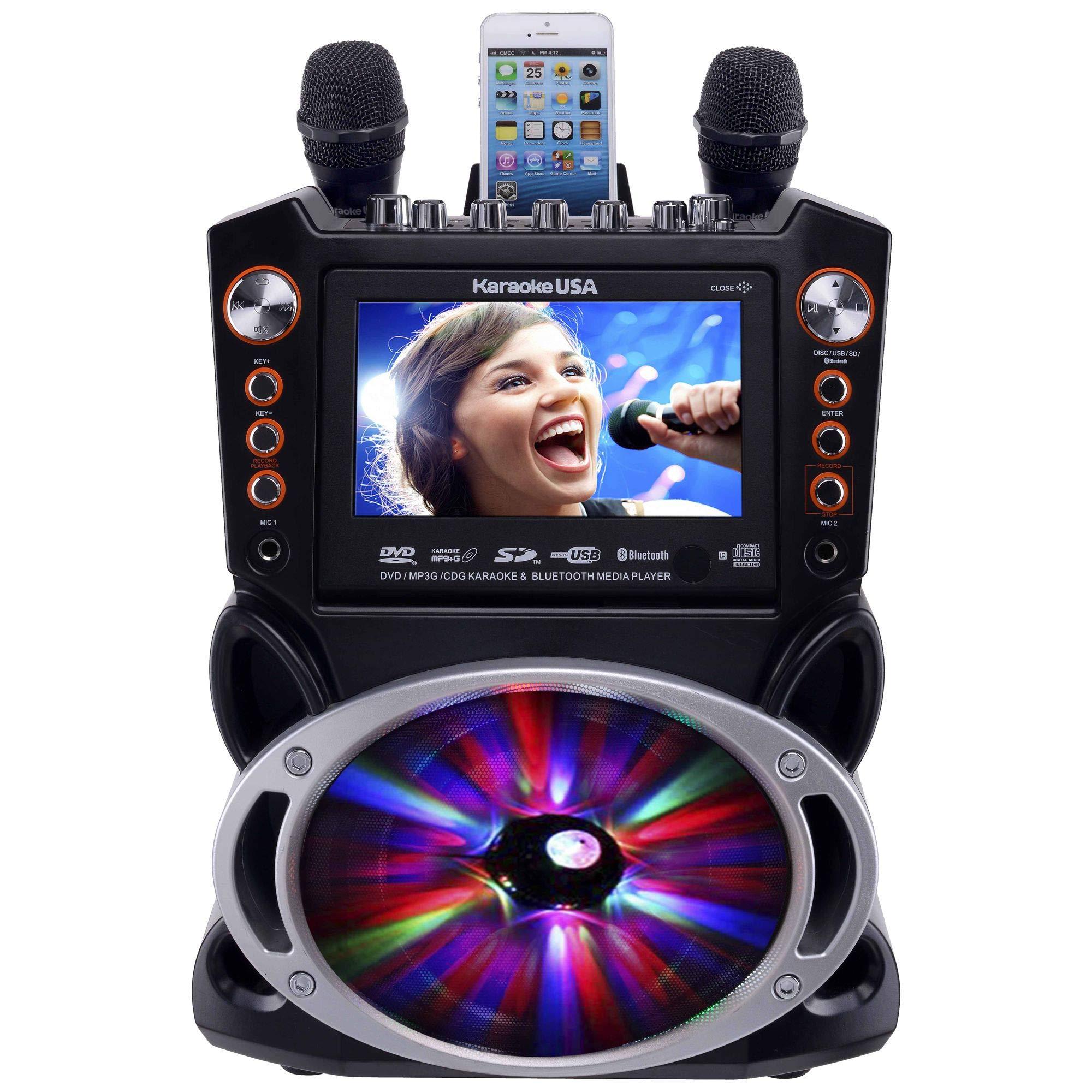 Karaoke USA GF846 Machine Bluetooth