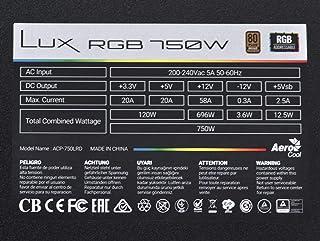 LUX 750W RGB Power Supply Unit
