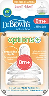 Dr Brown's Options + Level 1 Teats