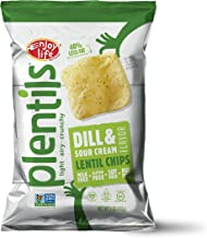 Enjoy Life Plentils, Dill and Sour Cream, Gluten, Dairy, Nut & Soy Free and Vegan, 4-Ounce