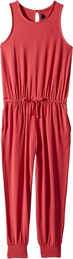 Stretch Cotton Romper (Toddler)