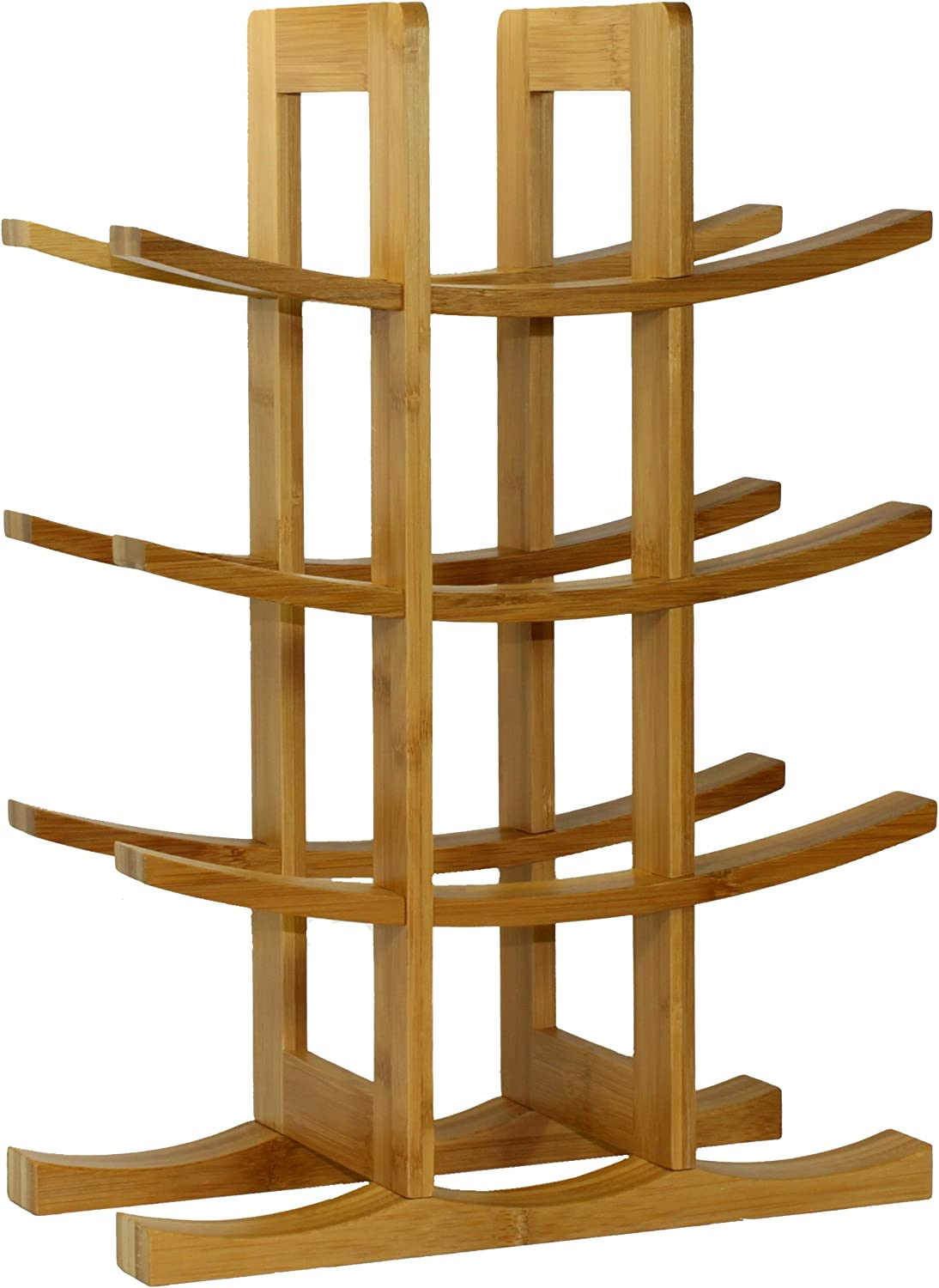 Spasm price Oceanstar WR1149 Seattle Mall 12-Bottle Natural Bamboo Wine Rack