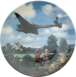 Bradford Exchange Royal Doulton Hampden Morning Exercise Heroes of The Sky Plate CP674