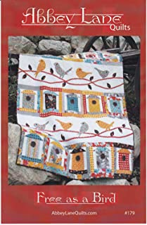 Free as a Bird Quilt Pattern by Abbey Lane Quilts #179 60