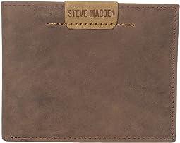 Dakota Leather Passcase Wallet