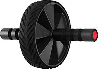 Utopia Fitness Ab Wheel & Roller- Core & Abdominal Trainer - Portable Premium Carver for Strengthening & Shaping Arms, Abs, Shoulders, Back