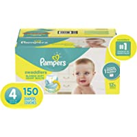 150 Count Pampers Swaddlers Disposable Baby Diapers