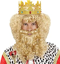 Deluxe King/Beard Boxed Wig for Hair Accessory Fancy Dress