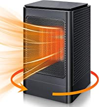 NXL Calefactor Baño Bajo Consumo Electrico Calefactor De Aire Caliente Calefactor Vertical, Termostato Regulable Hot Calefactor Cerámico Protección contra Sobrecargas