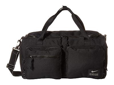 Nike Utility Power Small Duffel (Black/Black/Enigma Stone) Bags