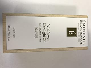 Eminence Organic Skincare Wildflower Ultralight Oil, 0.3 Fluid Ounce